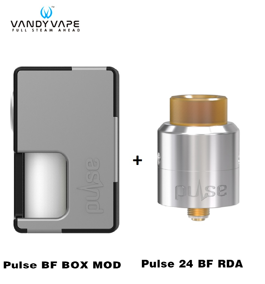 Original Vandy Vape Pulse BF Box Mod Kit with Pulse 24 BF