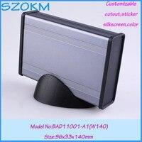 Good Quality Aluminum Extrusion Enclosure 1 Pcs 96 33 140mm Szomk Set Top Box Customizable Electronics