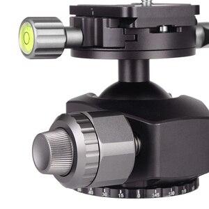 Image 4 - XILETU G 44 верхняя панорамная 360 градусная камера штатив с шаровой головкой 44 мм шаровая Головка из алюминиевого сплава с быстроразъемной пластиной для телефона