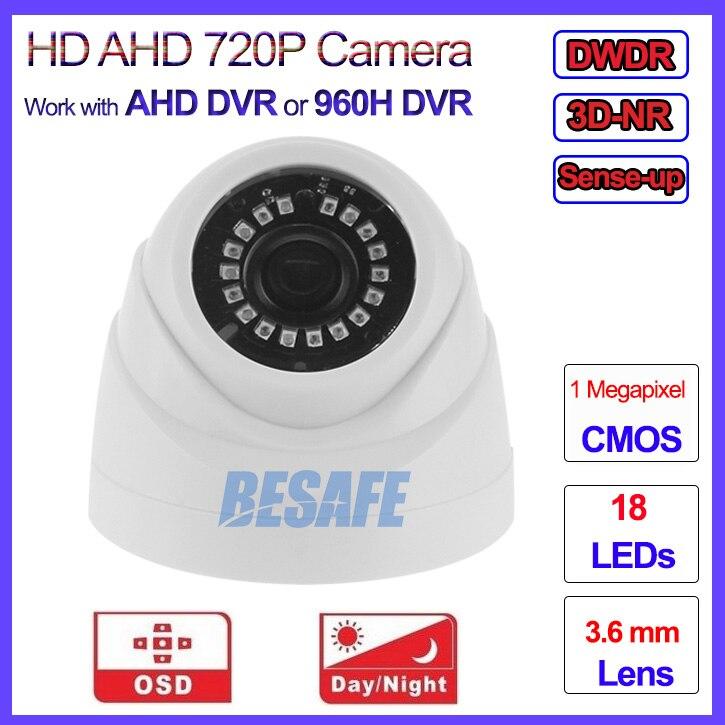 HD Analog mini cctv camera Night Vision 720P AHD M L camara vigilancia, 960H, OSD, 3DNR, IR CUT, DWDR, 3.6mm Lens, Sense up