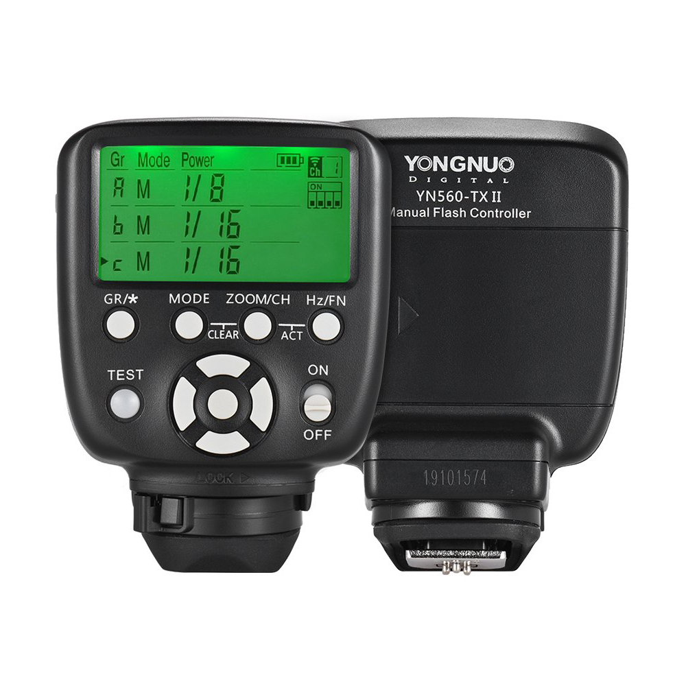Upgraded YN560-TX II LCD Flash Trigger Remote Controller for Canon Nikon YN560IV/III YN660 968N YN860Li SpeeliteUpgraded YN560-TX II LCD Flash Trigger Remote Controller for Canon Nikon YN560IV/III YN660 968N YN860Li Speelite