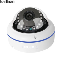 GADINAN AHD 2MP Vandal Proof HD 1080P AHDH Dome Camera 1080p Surveillance Waterproof Outdoor Indoor Camera