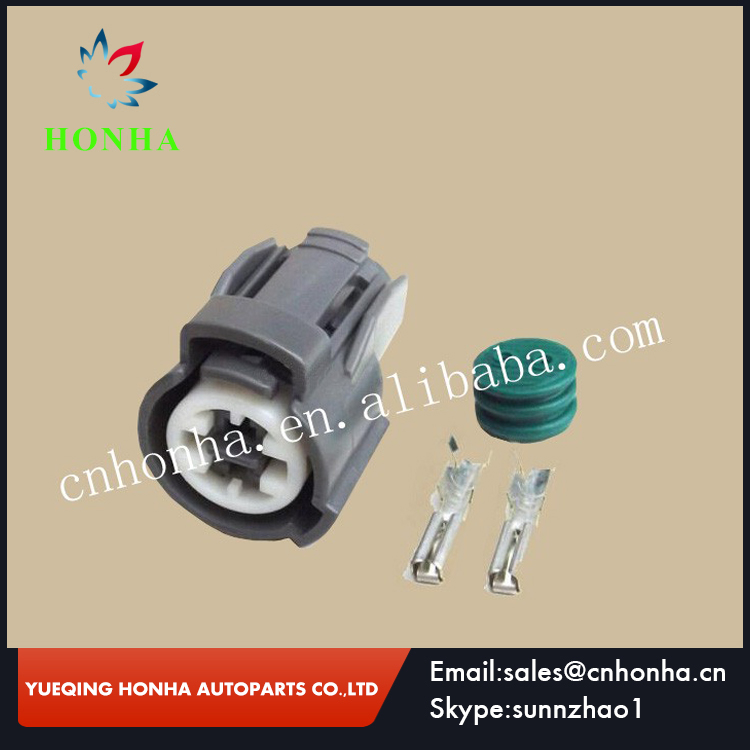 2/5/10/20/50/100 pcs 2 Pin Oil Pressure Switch Plug Knock Coolant Sensor Connector For <font><b>Honda</b></font> Acura VTEC ECT 6189-0156 Sumitomo image