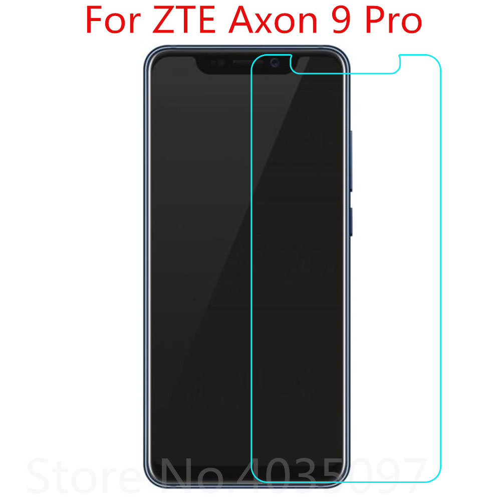 2PCS Tempered Glass For ZTE Axon 9 Pro Screen Protector 9H 2.5D Phone Protective Glass For ZTE Axon 9 Pro Tempered Glass