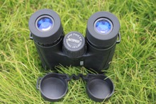 HD 10×42 Waterproof mini Binoculars Professional Hunting Telescope  Zoom High Quality Vision No Infrared Eyepiece Army Green