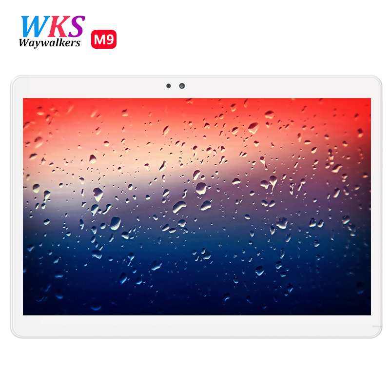 WAYWALKERS 10.1 inch Android 6.0 Tablet Android tablet pc Octa Core 4GB RAM 64GB ROM Tab 8 Cores MT8752 IPS Tablets Computer