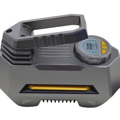 Pompe portative de gonfleur de pneu de compresseur d'air de voiture, pompe électrique automatique de compresseur d'air de secours de Digital de 12 V 150 PSI pour la voiture, camion