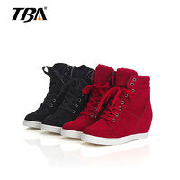 2017 Summer Autumn Platform Wedge Heel Boots Women Shoes With Increased Platform Sole Female Fashion Casual