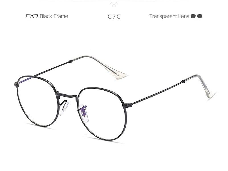 02768699abd1c VMOERS Retro pequeña ronda de gafas de sol hombres marca Vintage ...