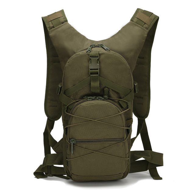 15L Molle Tactical Backpack 800D Oxford Military Hiking Bicycle Backpacks Outdoor Sports Cycling Climbing Camping Bag Army XA568 3