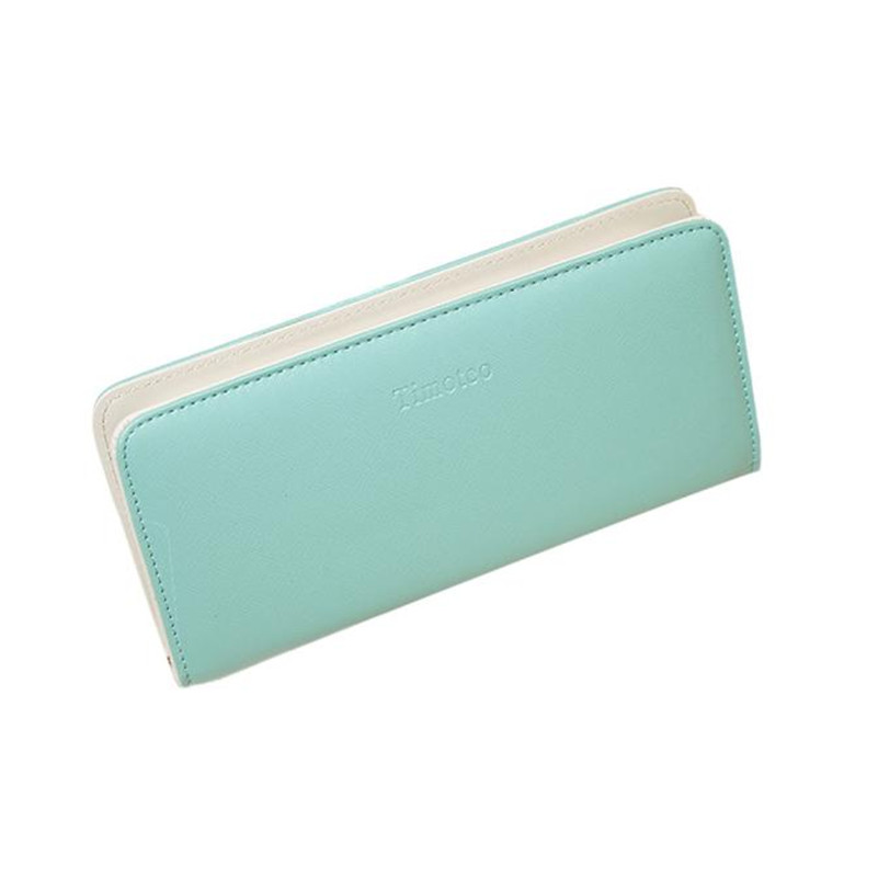 Fashion Classic Women Long Zip Wallet Purse Wallet Clutch Long Card Holder Handbag Girls Leather Purses alexander terekhov комбинезоны без бретелей