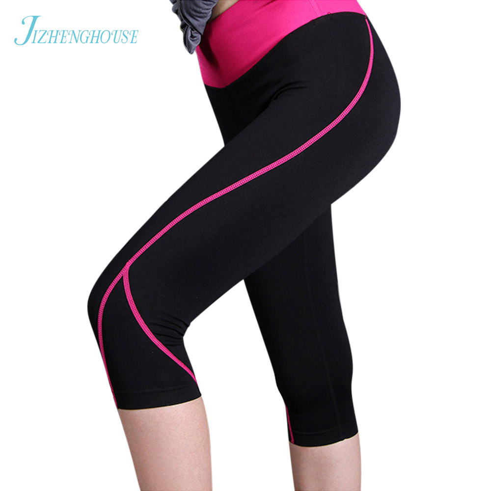 JIZHENGHOUSE Women Lady Activewear Legging Summer Pant High Waist Leggins