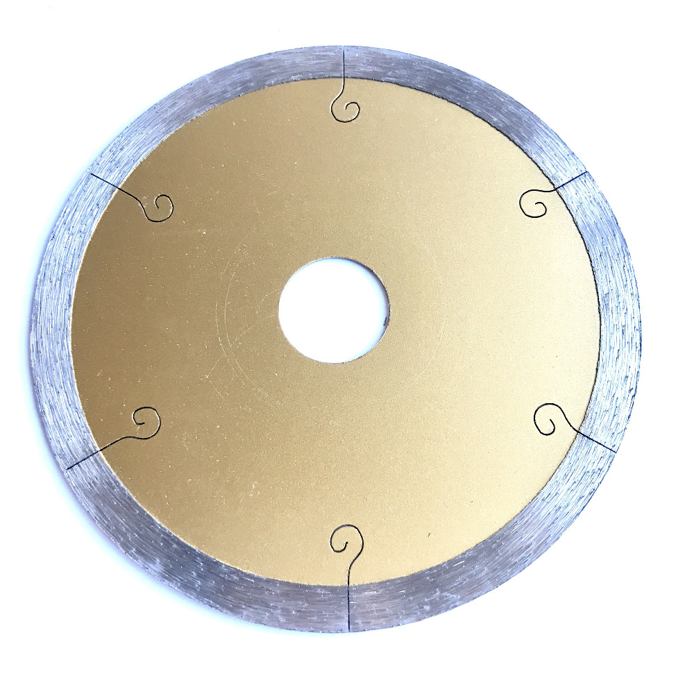 Free Shipping Brick Tile /quartz Brick/cutting Blade With Hook Lines 110*20*1.2*8mm Ceramic Saw Sharp Cutting Without Collapse