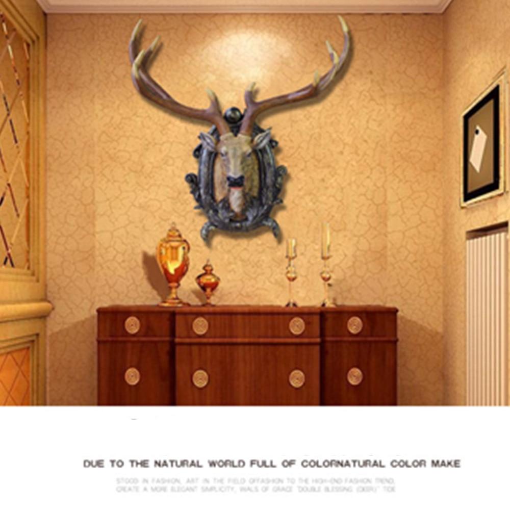Fancy Decorative Deer Head Wall Decor Photos - The Wall Art ...