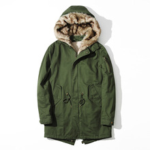 font b Mens b font New Fashion camouflage font b parkas b font military medium