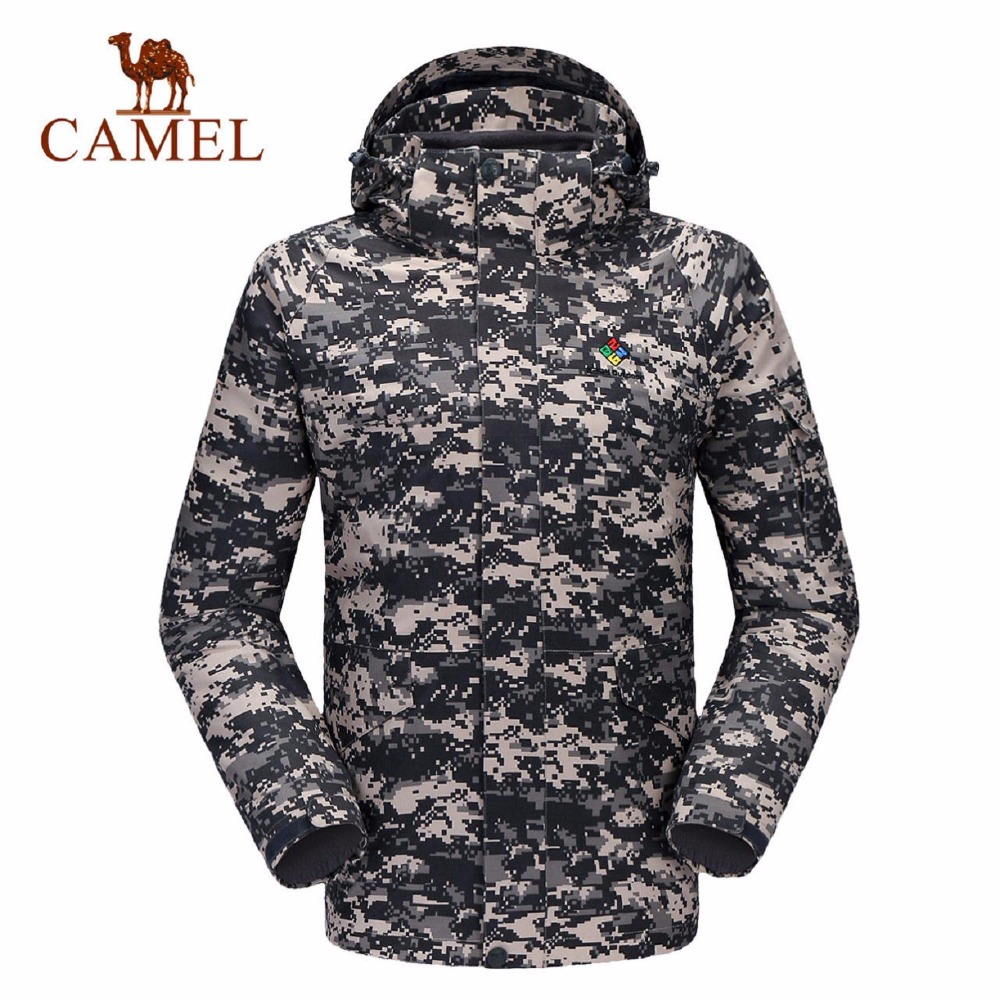 Camel Men's Outdoors Twinset Autumn and Winter Windproof Thermal Hiking Jacket K6W230506 aamir sarwar and sherwan asif camel ratings application