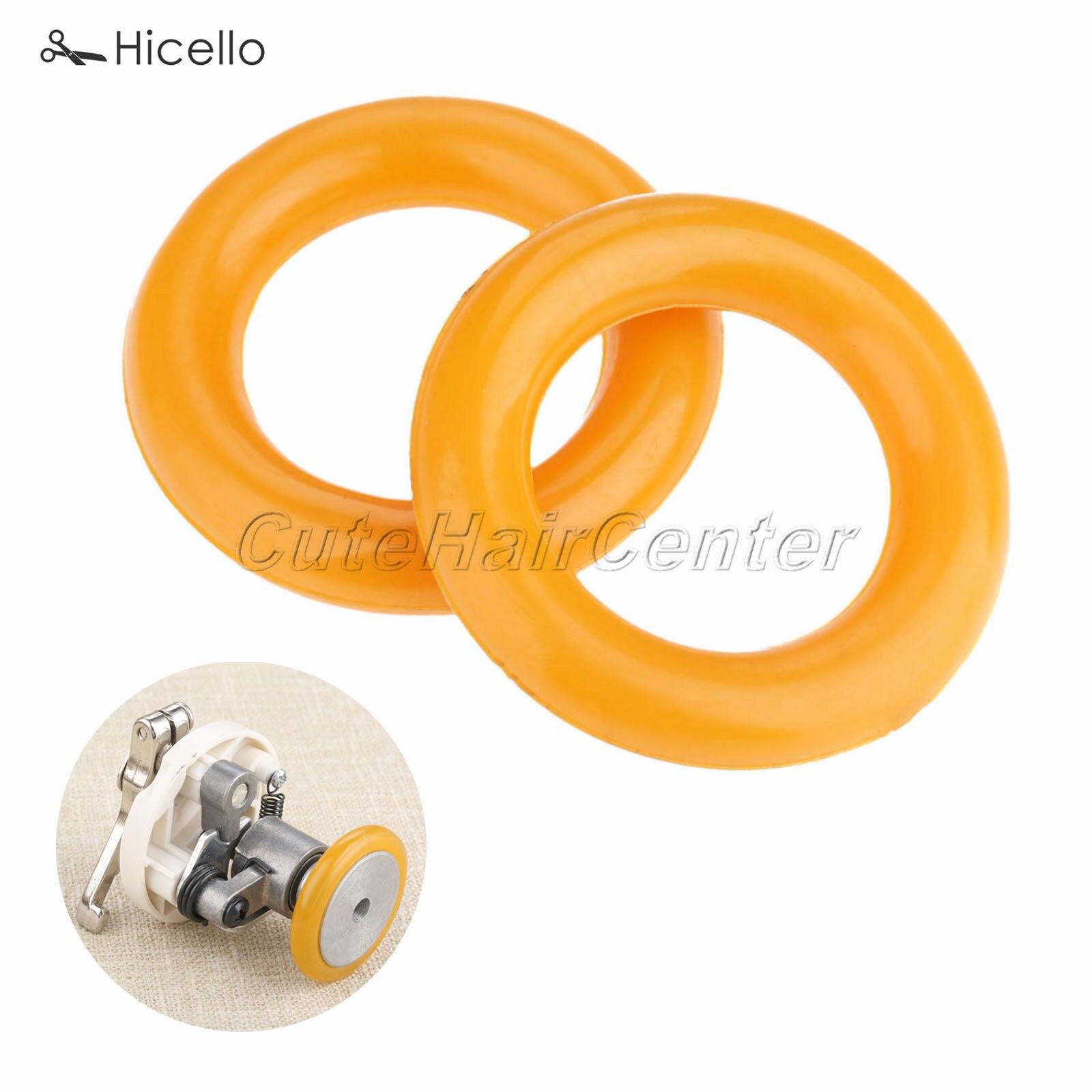 "2Pcs Bobbin Winder Rubber Ring for Brother Juki Jack Sewing Machine 1.38/""*0.79/"""