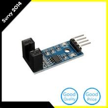 цена на 2PCS Slot Type IR Optocoupler Speed Sensor Module LM393 For Arduino Groove Coupler Sensor 3.3V-5V Connect Relay Buzzer Module