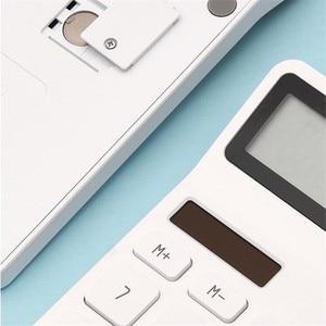 Image 5 - Xiaomi Mijia Lemo Desktop Rekenmachine Optische Dual Drive 12 Nummer Display Automatische Uitschakeling Calculator Voor Kantoor Financiën