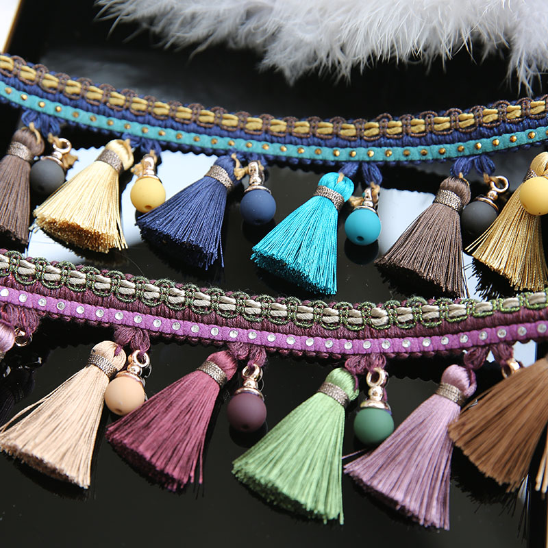 tessel drop Wedding dress accessories Pearl Beaded  Trim fabric applique patches for clothes parche ropa Sew on  7*100cm