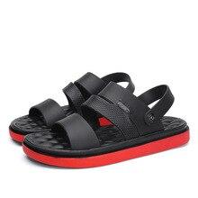 Light Sandals Men 2019 New Summer Flip Flops Slippers Outdoor Casual Mens Roman Beach
