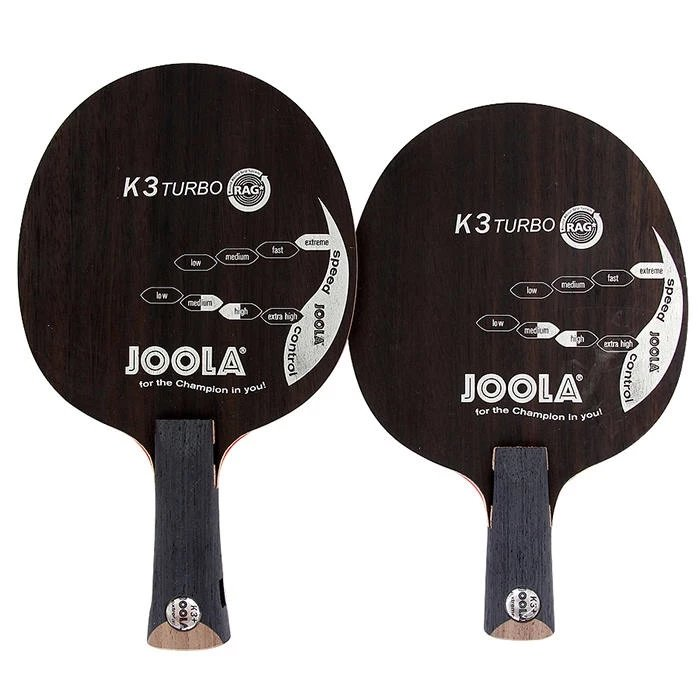 Original Joola New K3 TURBO K3+ SP, Ebony, 7 Ply Wood, Loop Offensive K3 Plus Table Tennis Blade Racket Ping Pong Bat joola rossi viva rosskopf 7 ply top offensive blade table tennis blade racket ping pong bat