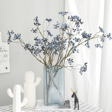 1 Pcs Artificial Fruits Wild Berries Green Plant Wall Accessories Decor for Home Table Garden Wedding Christmas Tree Berry Plant бомбер printio berries fruits