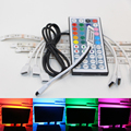 USB Powered RGB Colour Change 5050 LED Strip Computer Bias Lighting TV USB Backlight Light Kit Flat Screen TV LCD Desktop PC