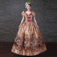 Georgian Antique Victorian Southern Belle Vintage Wonderland Dress Princess Theater Reenactment Clothing