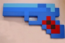 Minecraft Foam Toy Weapons