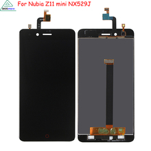 Phone Parts For ZTE Nubia Z11 mini NX529J Full LCD Display Touch Screen Digitizer Assembly Original Mobile Phone LCD With Tools 100% good working full lcd display touch screen digitizer assembly for htc one e8 mobile phone repair parts