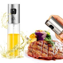 100ml Kitchen Tools Glass Olive Oil Sprayer Empty Bottle Vinegar Dispenser for Cooking Gadgets Salad BBQ