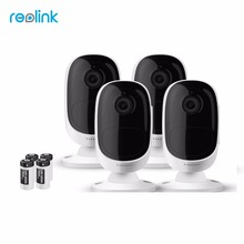 Reolink Wireless WiFi Battery IP Camera 2MP Outdoor Full HD Wire-Free Weatherproof Indoor Security Cam Argus-4(4 cam pack)(China)