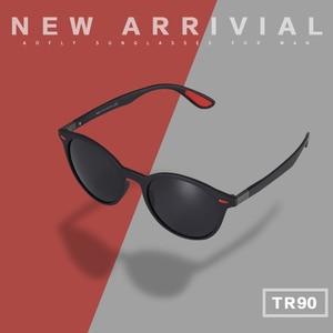 Image 2 - AOFLY מותג עיצוב גברים משקפי שמש מקוטב סגלגל מסגרת משקפי שמש נשים גברים בציר יוניסקס משקפי Oculos דה סול AF8112