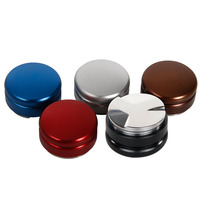 Macaroon Stainless Steel Coffee Tamper, Coffee powder Pressure Hammer Powder 58mm