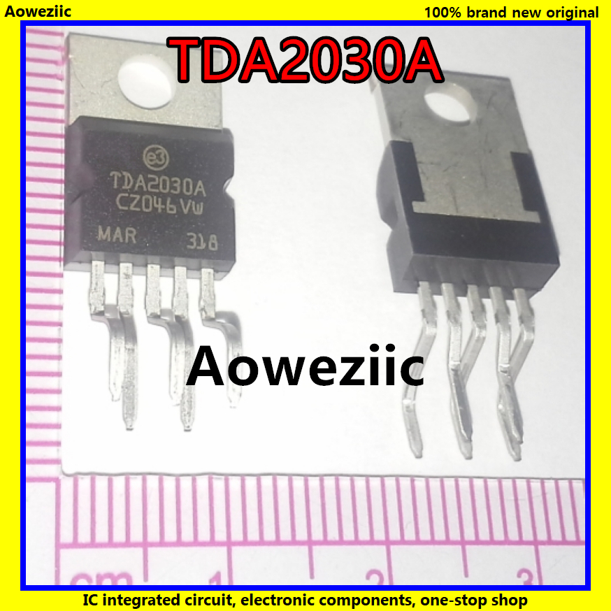 10PCS AUDIO AMPLIFIER IC ST TO-220 TDA2030A TDA2030AV