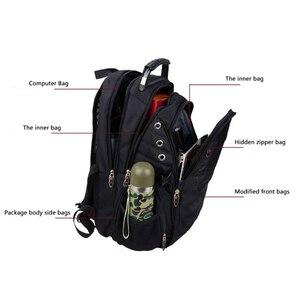 Image 5 - MAGIC UNION Mens Travel Bag Man Backpack Polyester Bags Waterproof Shoulder Bags Computer Packsack Brand Design Backpacks