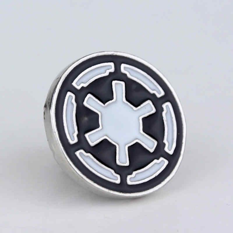 Di nuovo modo di star wars spilla Spille Ammiraglio Comando distintivo star Wars Maschera Spilla Spille del risvolto del Commercio All'ingrosso Spille uomini hero simbolo
