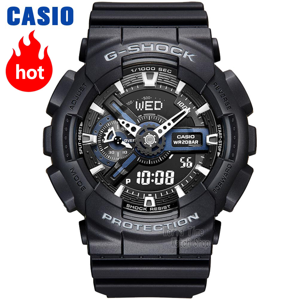 Casio watch G-SHOCK Men's quartz sports watch Dynamic dual display design waterproof g shock Watch GA-110