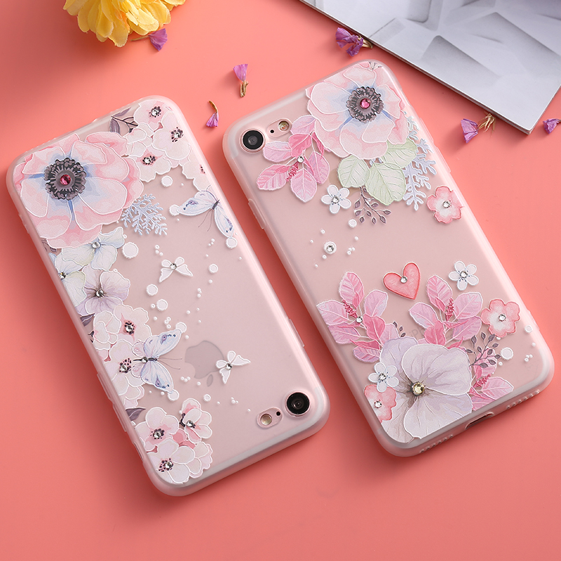 flower case iphone 8