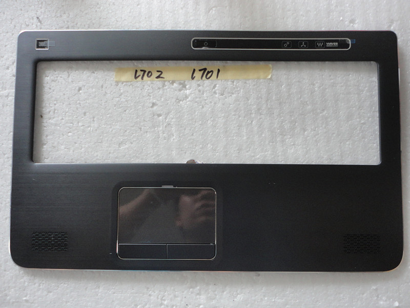 New Original For Dell XPS 17 L701X L702X Palmrest Upper Case  Cover with Touchpad Assembly R21D6 0R21D6