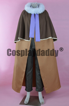 Professor Layton and the Last Specter Hershel Bronev Jean Descole Professor Desmond Sycamore Outfit Cosplay Costume F006