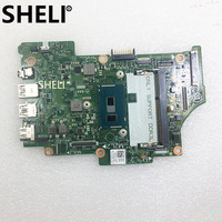 SHELI PARA DELL Inspiron 7352 Laptop Motherboard W/I7 5500U CPU CN 08H90T 08H90T 8H90T 13321 1 PWR: 8X6G1 DDR3L Teste ok|Placas-mães| |  -