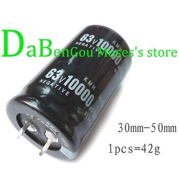 Capacitancia Radial de capacitancia electrolítica 63V 10000uf 30x50mm (10 Uds.)