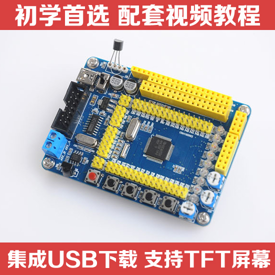 Free Shipping  MSP430 Development Board MSP430F149 Minimum System Board Core Board