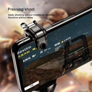 Image 4 - Baseus Pubg Mobile Controller Trigger per il iPhone XR L1 R1 Shooter Controller Pulsante di Fuoco Gameped Joystick per il Telefono Android