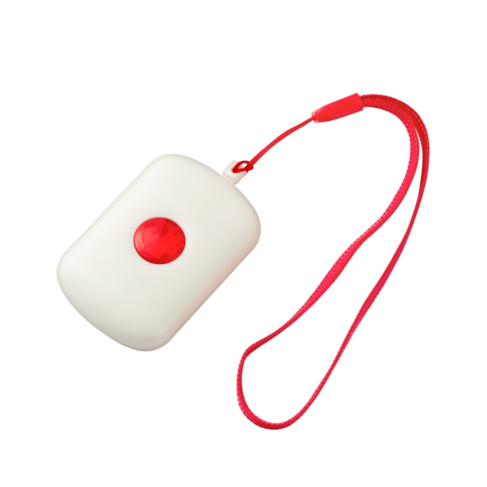 Wireless SOS emergency button, panic button for old people for emergency call,Suit for G90B Alarm home system wireless service call bell system popular in restaurant ce passed 433 92mhz full equipment watch pager 1 watch 7 call button
