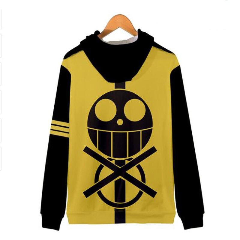 Japanese Anime One Piece 3D Printed Women/Men Hoodies Sweatshirt Monkey D Luffy Trafalgar Law Roronoa Zoro Zipper Hooded Jackert