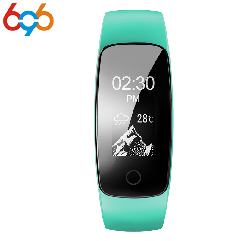 ID107 PLUS HR Smart Wristband Multisport tracking Heart Rate monitor call notification 0.96 inch OLED Screen smart band