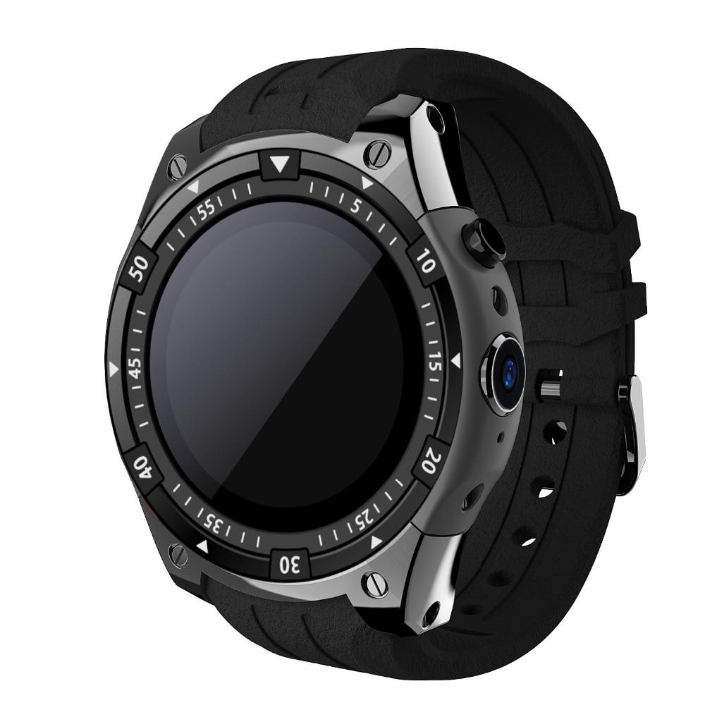 100X696 Bluetooth Смарт часы сердечного ритма музыкальный плеер Facebook WhatsApp синхронизации SMS Smartwatch Wi Fi 3g для Android Прямая доставка